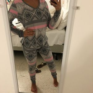 SET!! THERMAL PJ SET VICTORIA SECRET!